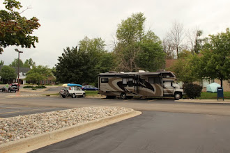 Photo: Geeks on Tour was quite the hit with our RV in Techsmith's parking lot!