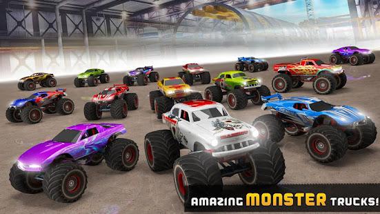 Impossible Tracks Monster Truck Stunts