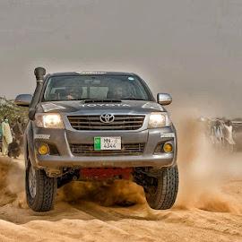 Winner by Abdul Rehman - Sports & Fitness Motorsports ( sand, pakistan, cholistan, punjab, dust, sports, dangerous,  )