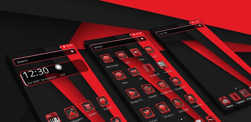 Red Dark Black Classic Theme Apps On Google Play