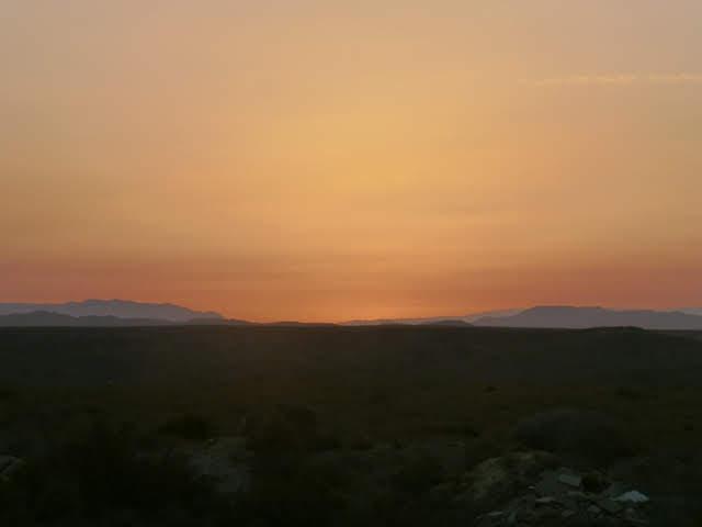 Atardecer en Almería