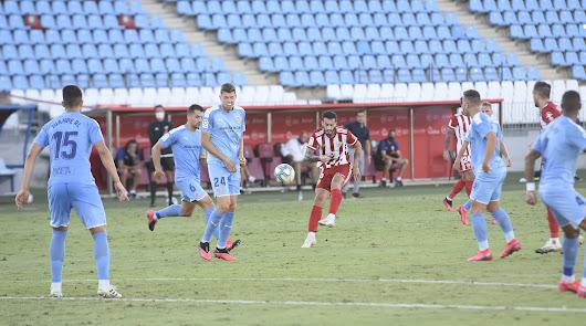 Lazo ante el Girona en el partido de Play Off de la pasada Liga.