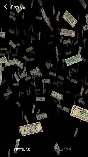 Money 3D Live Wallpaper Full