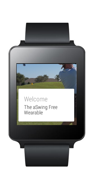 The aSwing Free Swing Analysis- screenshot