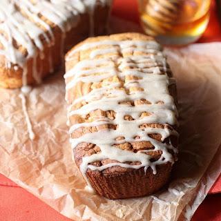 Mini Cream Cheese Honey Vanilla Pound Cakes.