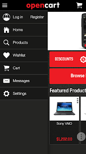 Tapitoo OpenCart screenshot 3