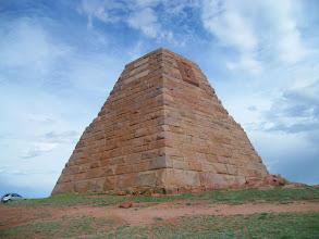 Photo: Ames Monument - Near Laramie, Wyoming