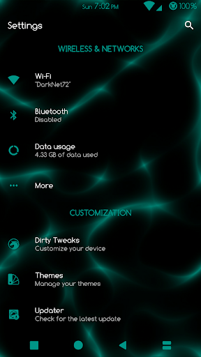Sprite Substratum Theme Android N and O  screenshots 2