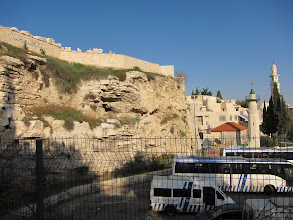 Photo: Protestant version of Golgotha (site of the crucifixion and tomb)