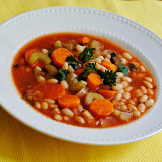 Fasolada (Greek Minestrone Soup).