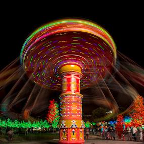 by Rose Roses - City,  Street & Park  Amusement Parks ( , fairground, funfair )