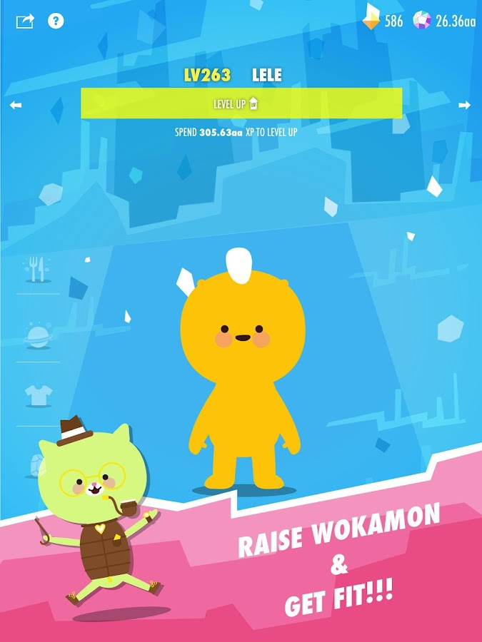 Wokamon - Monster Walk Quest- screenshot
