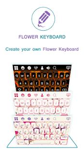 Flowers Keyboard - náhled