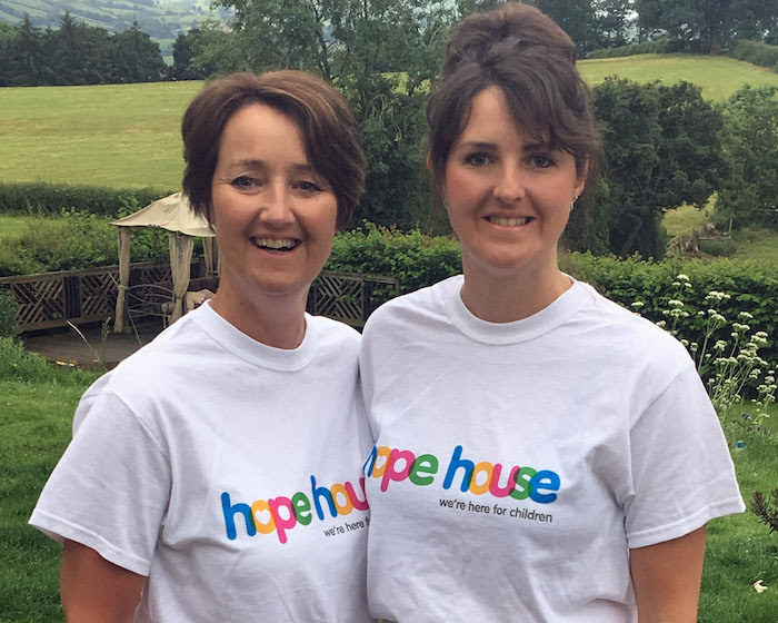 Newtown mother and daughter prepare for charity walk
