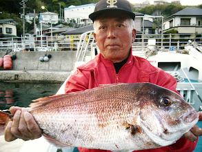 Photo: 本日の最大魚でした! 3.5kgかな?