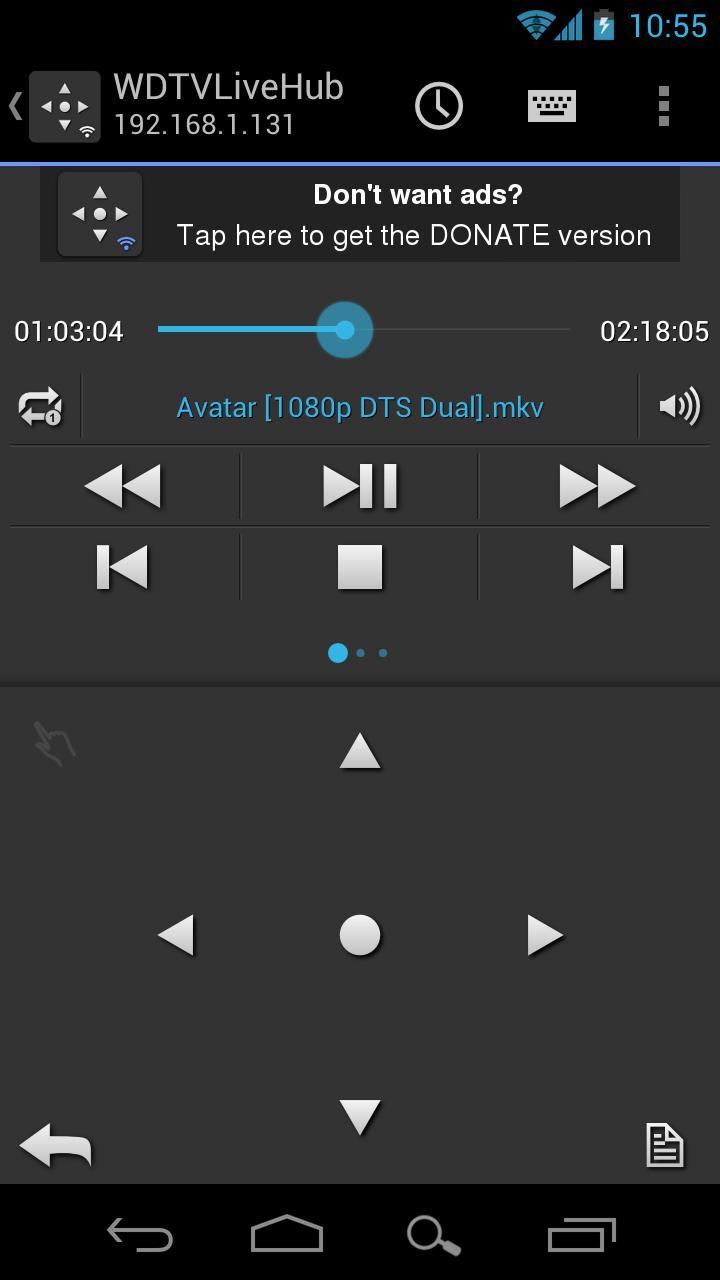Скриншот WDlxTV MediaPlayers Remote