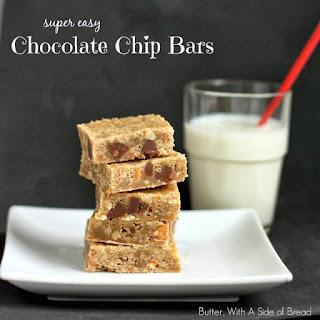 Easy Chocolate Chip Bars