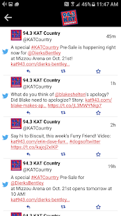 94.3 KAT Country- screenshot thumbnail