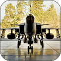 Jet Fighter Live Wallpaper icon