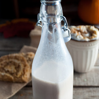 Easy Pumpkin Spice Coffee Creamer.