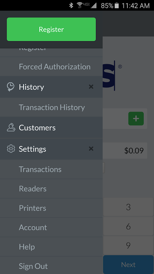 Mobile Payment Acceptance 3.0- screenshot