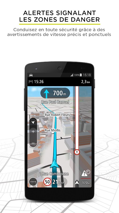tomtom go mobile gps trafic applications android sur google play. Black Bedroom Furniture Sets. Home Design Ideas