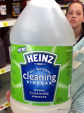 Photo: Heinz Cleaning Vinegar...in the cooking section. Wasn't sure how I felt about that.