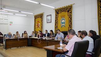 Pleno de Carboneras del pasado 13 de septiembre.