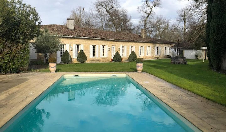 Maison avec piscine et jardin Léognan