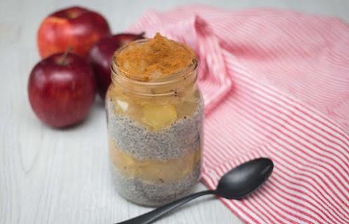 Apples and Cinnamon Chia Pudding