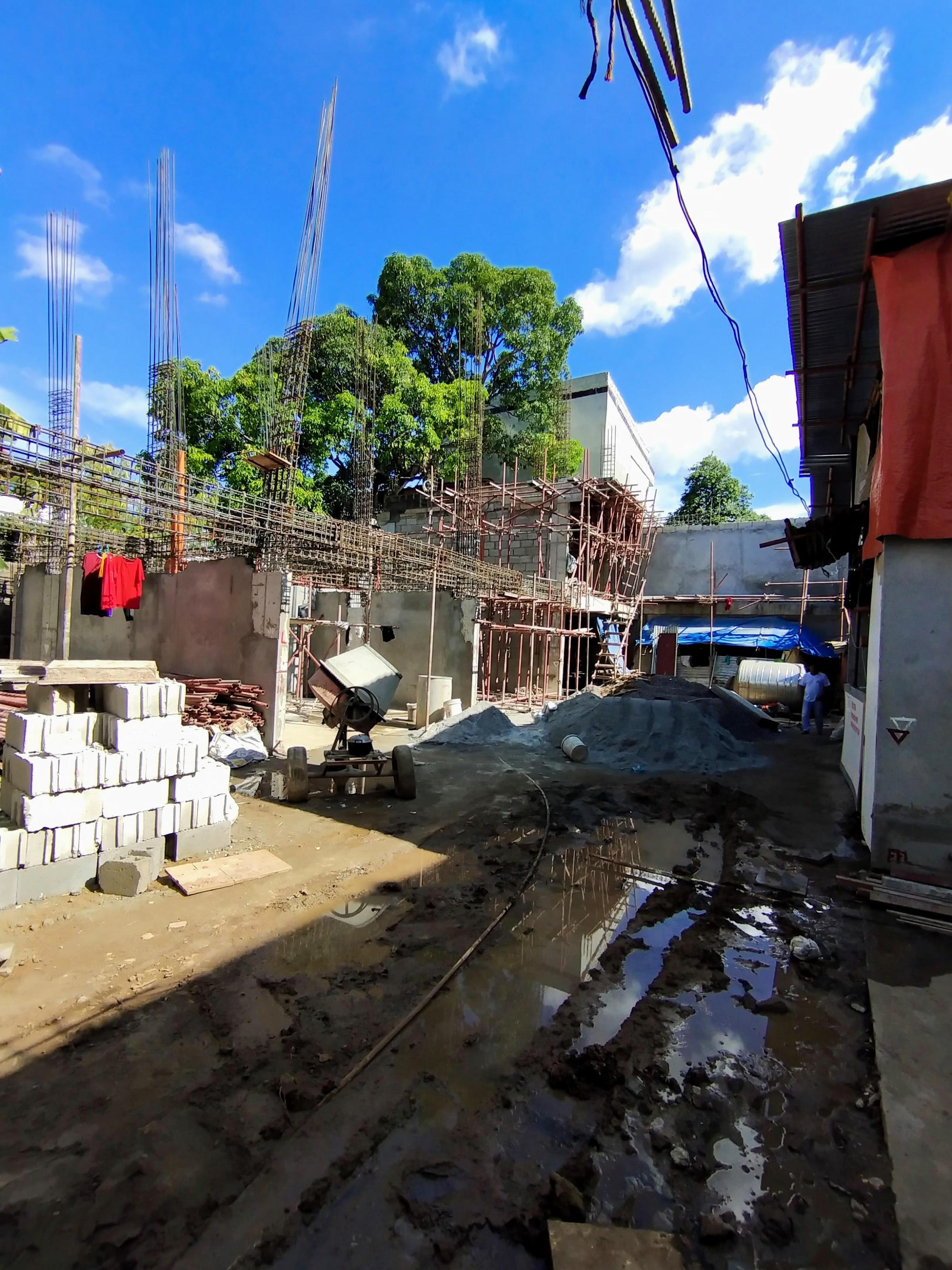 Ginza 2 in Don Antonio Heights, Quezon City June 2021 Construction updates