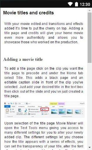 Movie Maker Guide