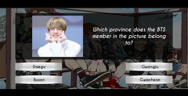 Game BTS ARMY Fan Quiz APK for Windows Phone