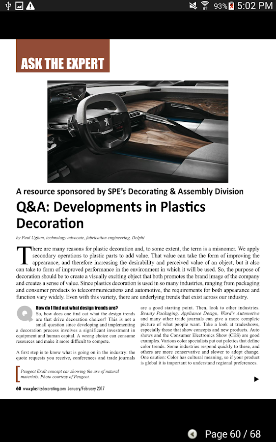 Plastics Decorating Magazine- screenshot