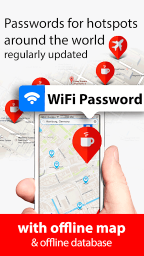 Wifimaps and offline map