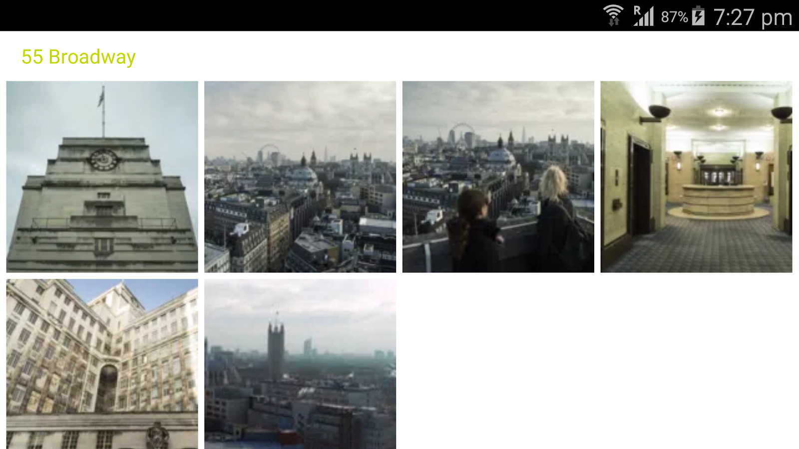 Hidden London Postcards- screenshot