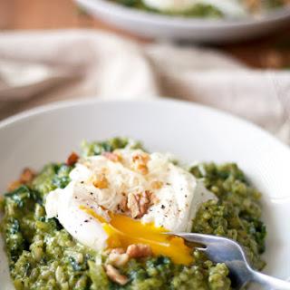 Oven Risotto with Kale Pesto Recipe