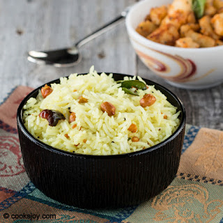 Lemon Rice (South Indian)