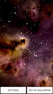 Space! Stars & Clouds 3D Free screenshot 0