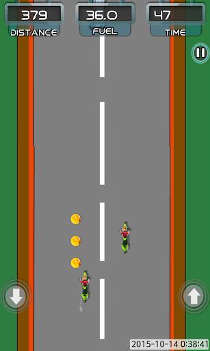 Moto racing rider game