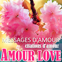 French Love messages & Love quotes icon