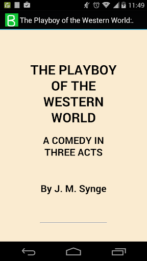 The Playboy of Western World