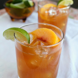 Guajillo Chile Peach Margarita.