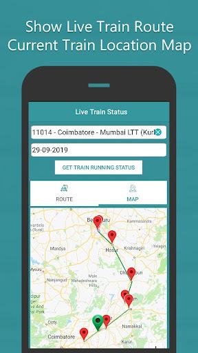 Where is my Train - Indian Rail Live Train Status screenshots 3