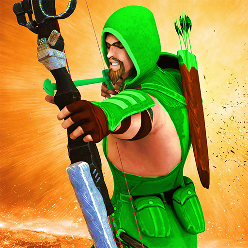 Superhero Green Arrow- Battle of arrows shoot war (game)