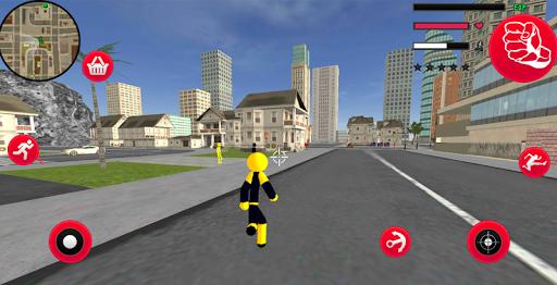 Mafia Spider Stickman Rope Hero Vegas Gangster screenshot 3