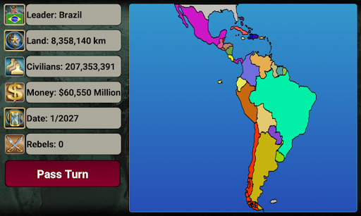 Latin America Empire 2027 LAE_1.1.4 screenshots 2