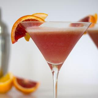 Blood Orange Meyer Lemon Gin Sour.