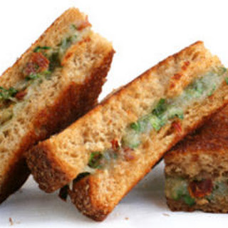 Sun-Dried Tomato, Parsley, and Manchego Grilled Cheese