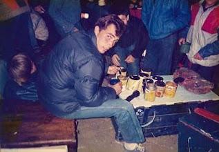 Photo: 1987 - PN Lanín, Campamento anual Tropa